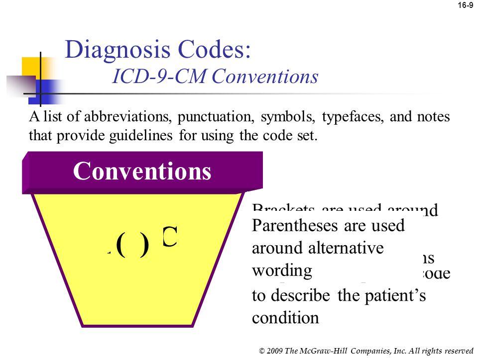 medical diagnosis codes list pdf